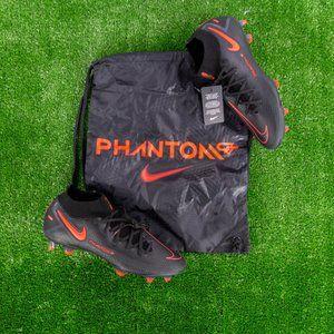 Nike Phantom GT Elite DF FG Black Red Soccer Cleat